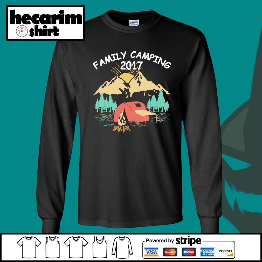 Family camping 2017 s Long-Sleeves-Tee
