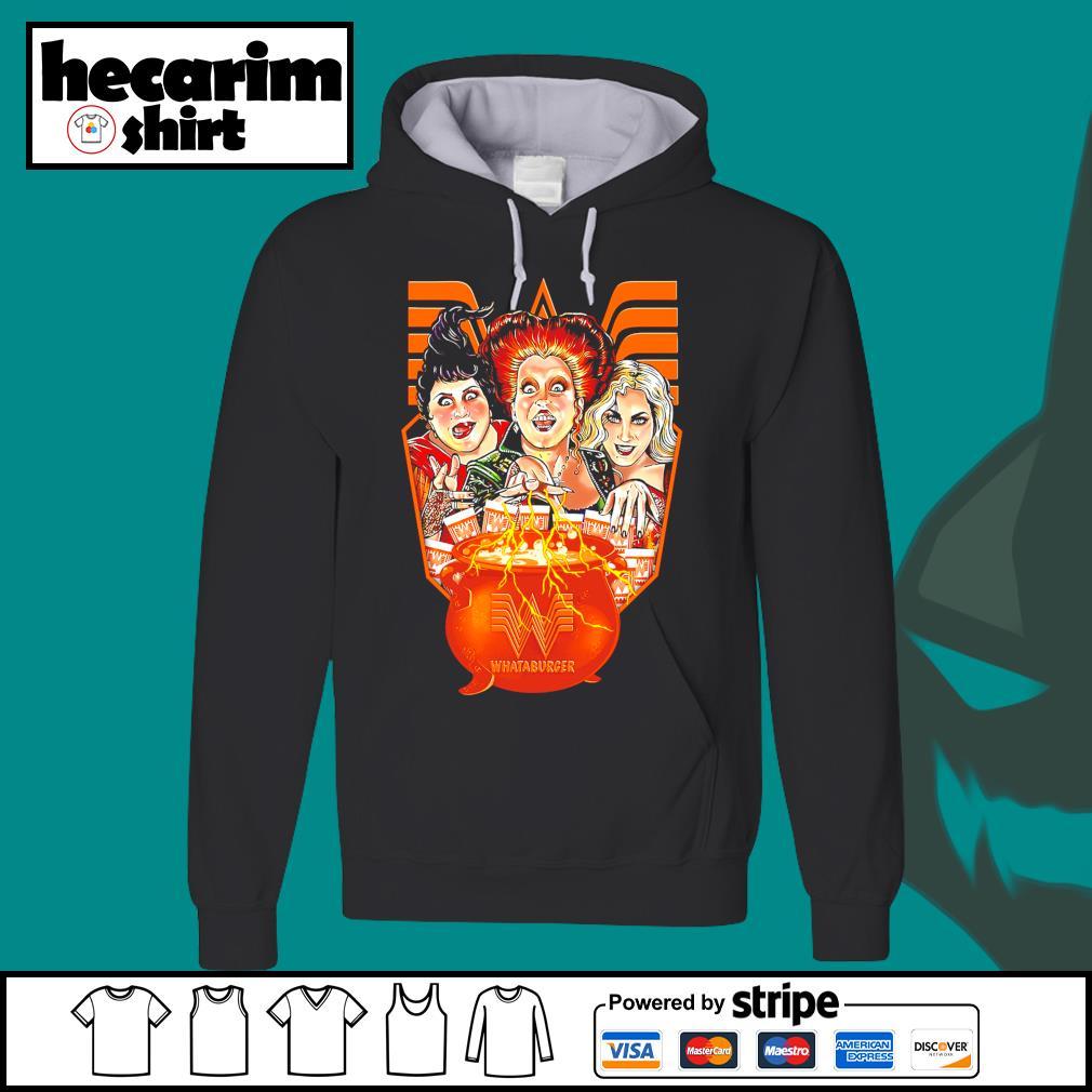 Hocus Pocus Whataburger Halloween s Hoodie