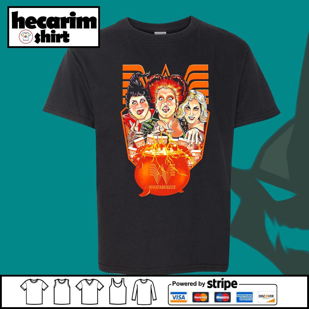 Hocus Pocus Whataburger Halloween s Kid-T-shirt