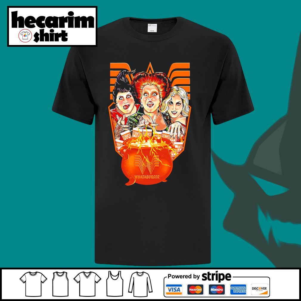 Hocus Pocus Whataburger Halloween shirt