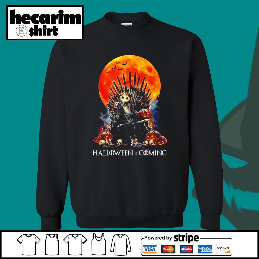 Jack Skellington king Halloween is coming GOT s Sweater