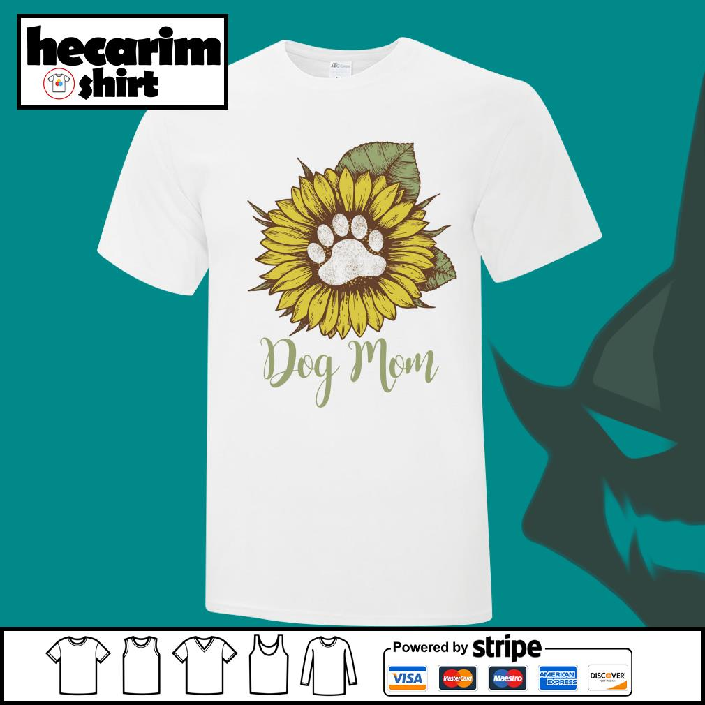 Sunflower dog mom shirt