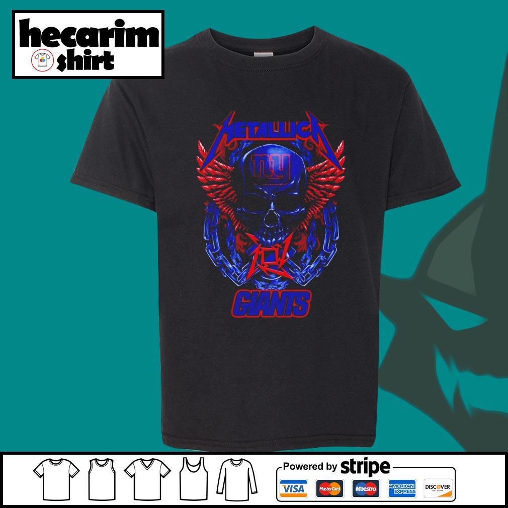 Metallica New York Giants s Kid-T-shirt