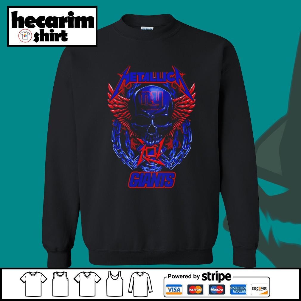 Metallica New York Giants s Sweater