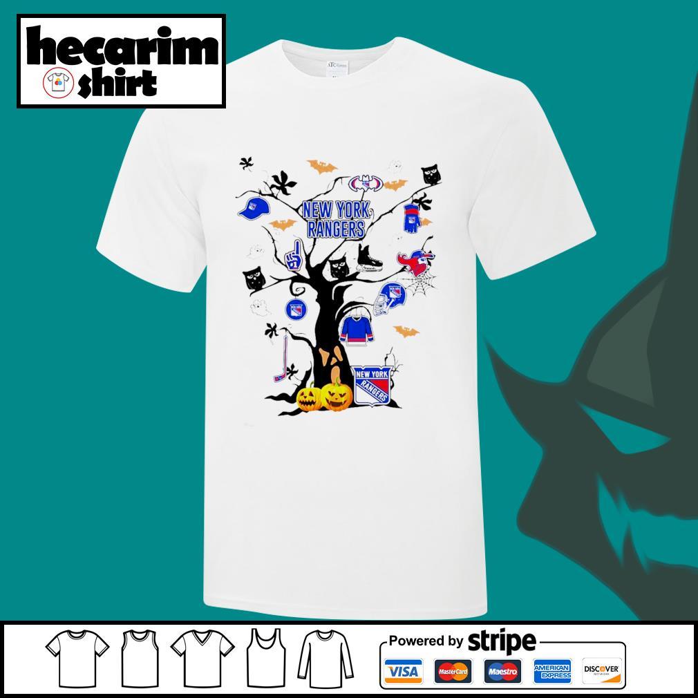 New York Rangers Tree Halloween shirt