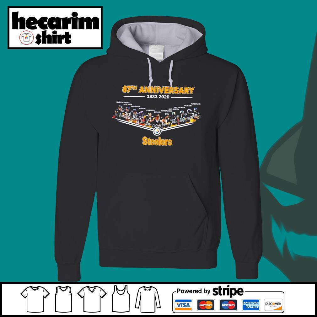 Pittsburgh Steelers 87th anniversary 1933 2020 s Hoodie