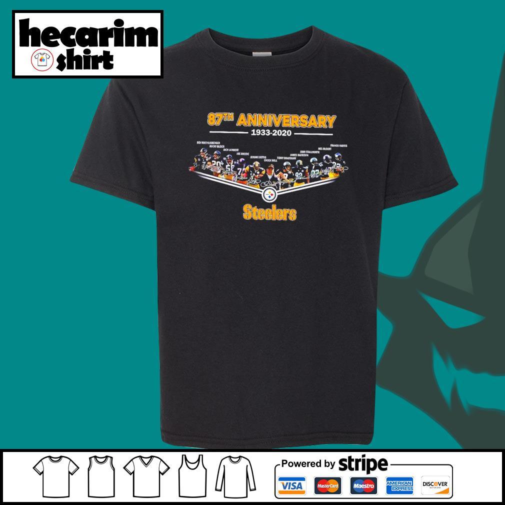 Pittsburgh Steelers 87th anniversary 1933 2020 s Kid-T-shirt