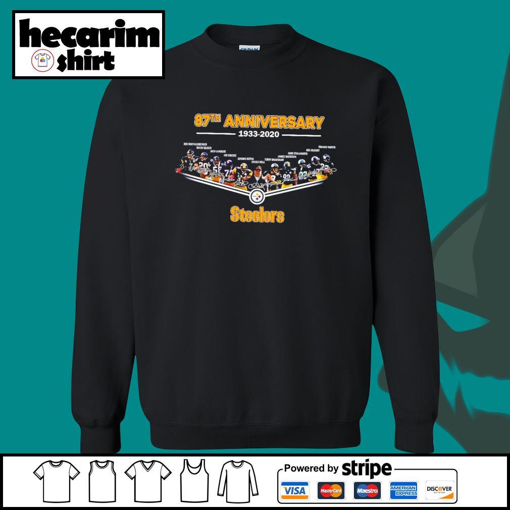 Pittsburgh Steelers 87th anniversary 1933 2020 s Sweater