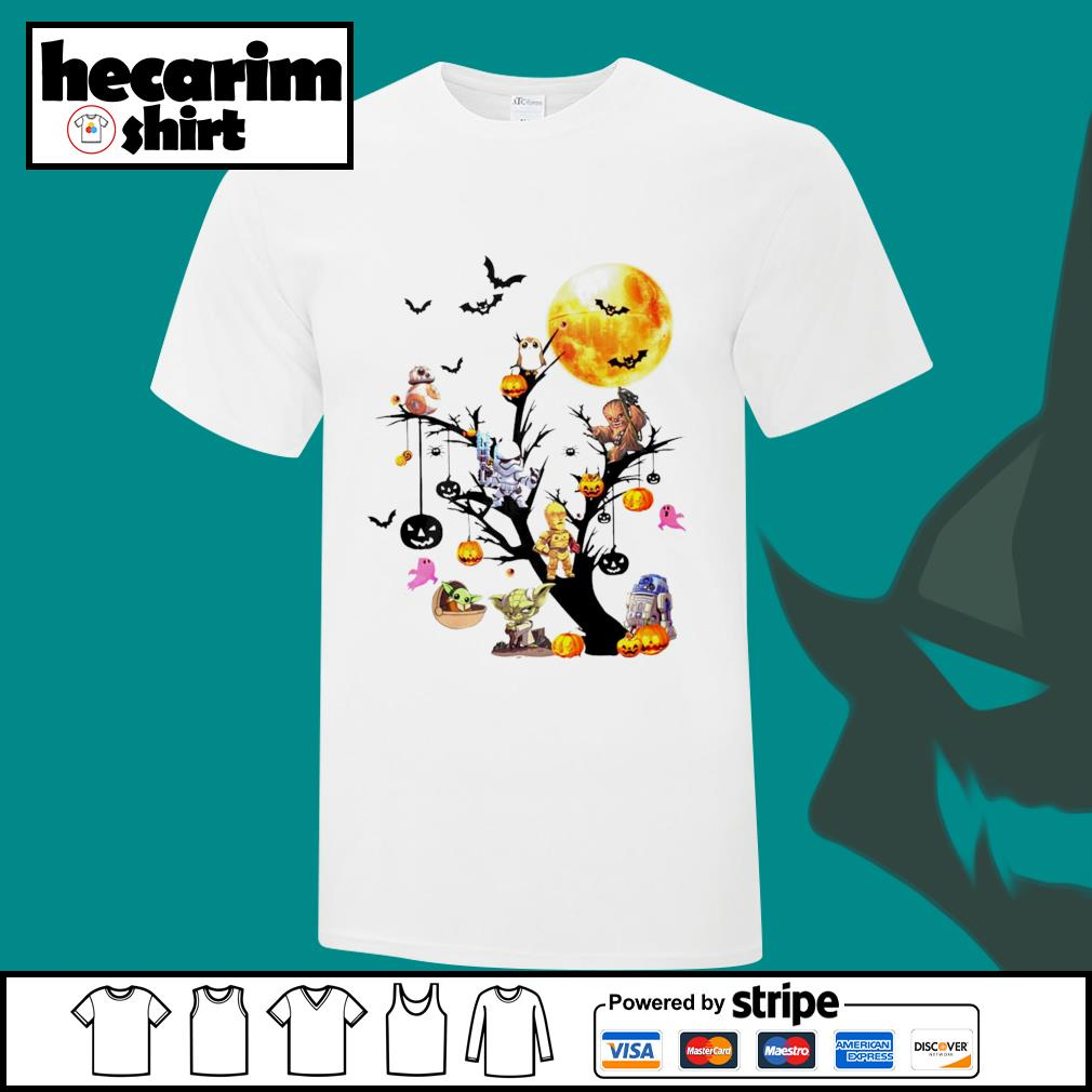 Star Wars Tree Happy Halloween shirt