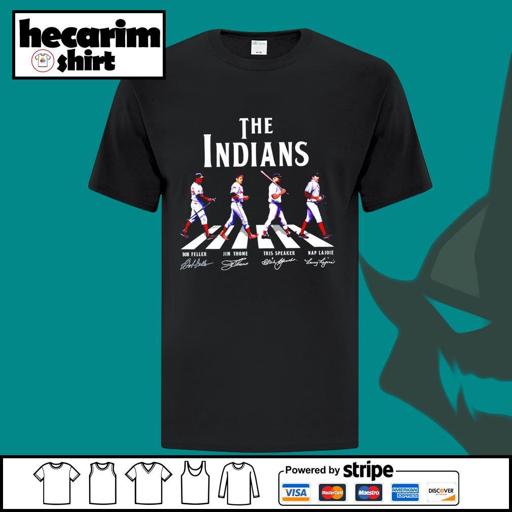 The Indians crosswalk signature shirt