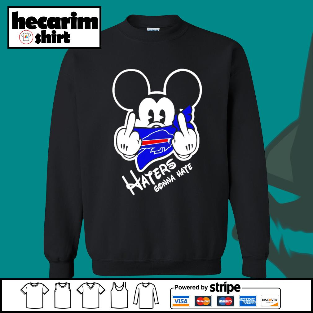 Mickey Buffalo Bills haters gonna hate s Sweater