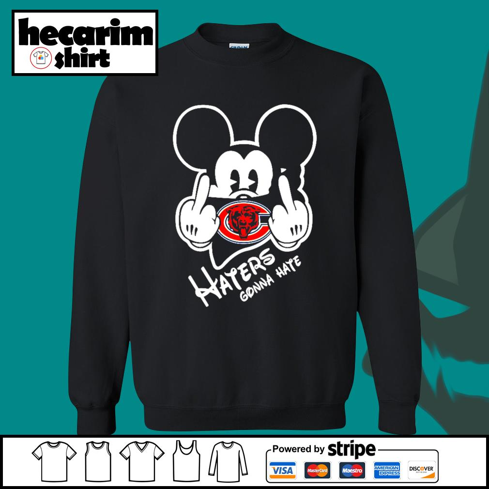 Mickey Chicago Bears haters gonna hate s Sweater