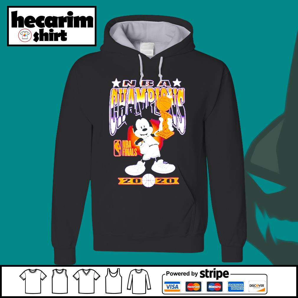 Mickey Mouse NBA champions 2020 s Hoodie
