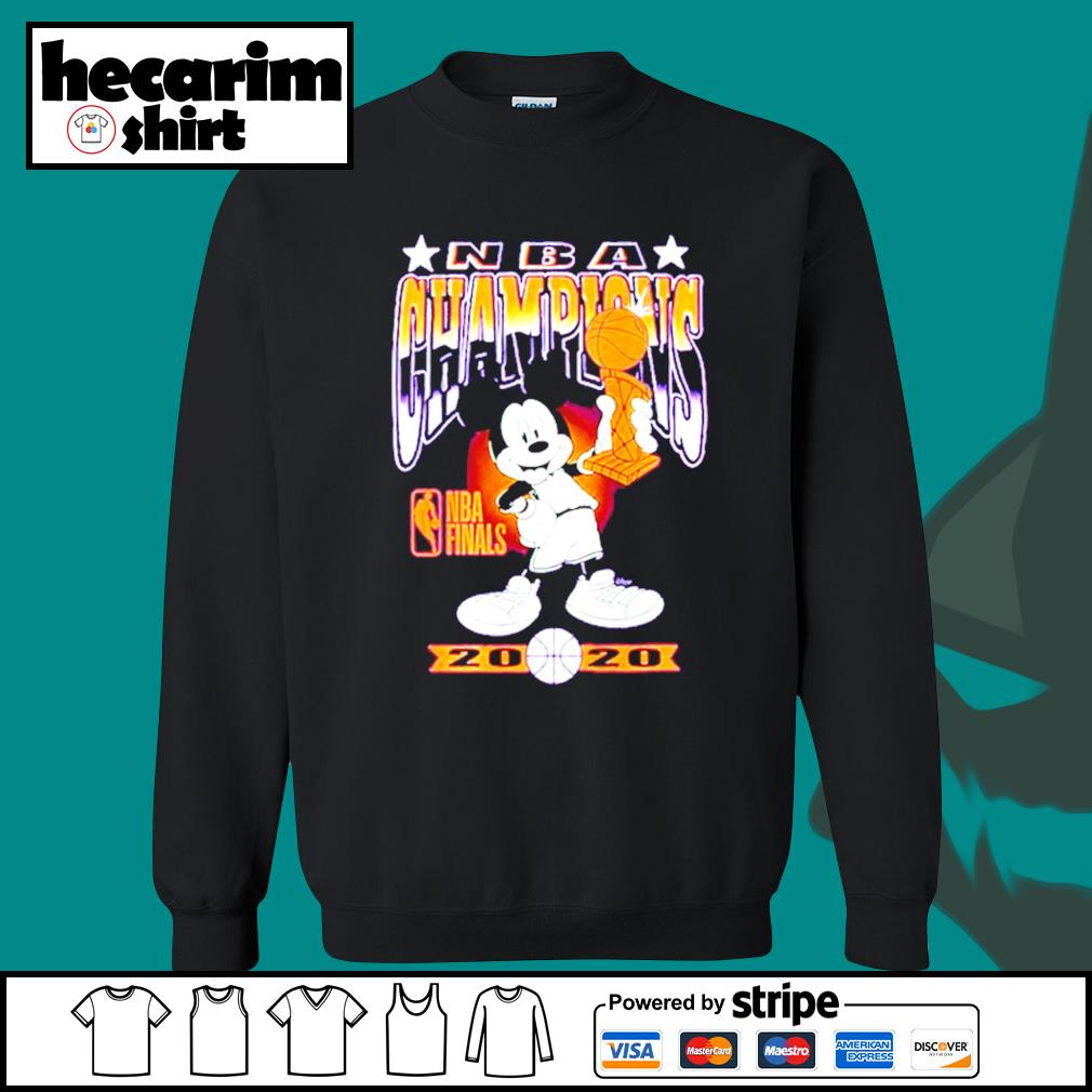 Mickey Mouse NBA champions 2020 s Sweater